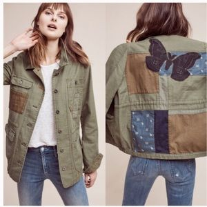 Anthropologie |  Hei Hei Patched Utility Jacket